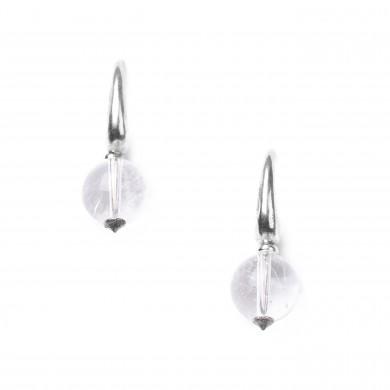 Boucles d'oreilles White Swan 12--76309  25€