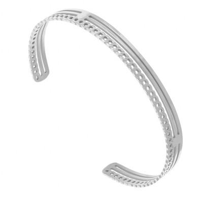 bracelet-jonc-chaine-argente-zag
