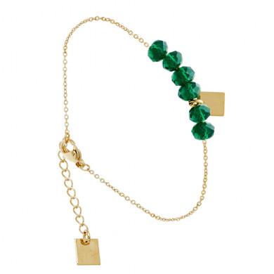 bracelet-perle-vert-dragee