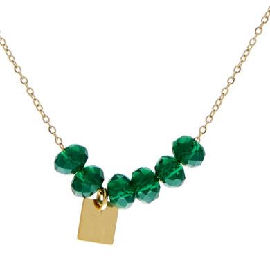 collier-dore-perle-vert