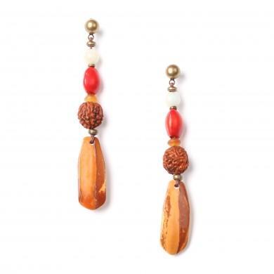 Boucles d'oreilles Brocéliande Nature bijoux
