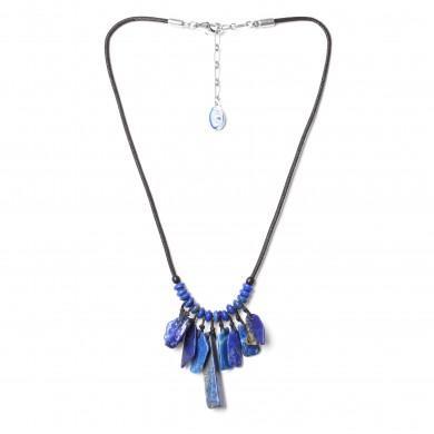 Collier Deep Blue Nature Bijoux
