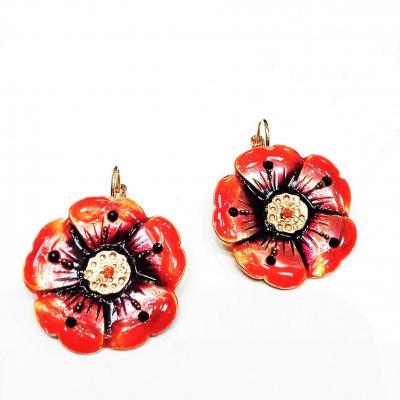 Bijoux idem fleur simple or 1