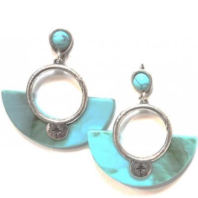 Blow bijoux turquoise