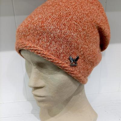 Bonnet orange chine