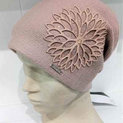 Bonnet rose pale
