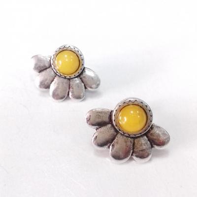 Boucles d oreilles jaune blow bijoux