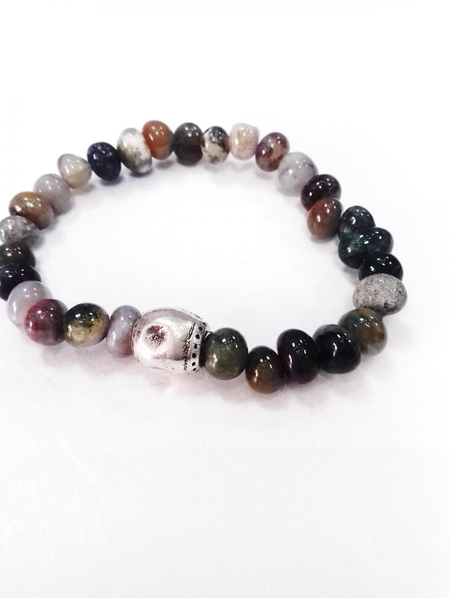 Bracelet agate indienne blow bijoux