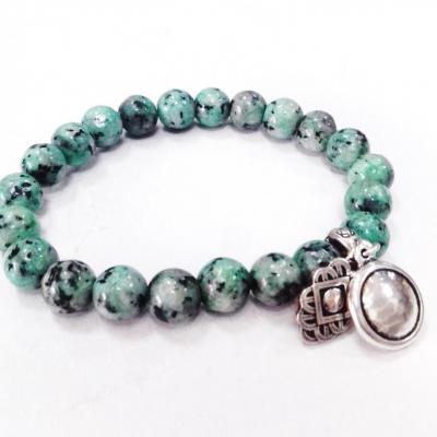 Bracelet jasper turquoise