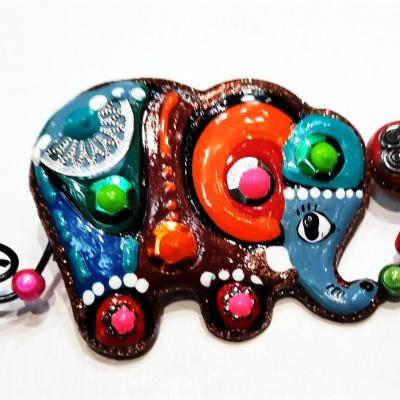 Broche elephant ballon