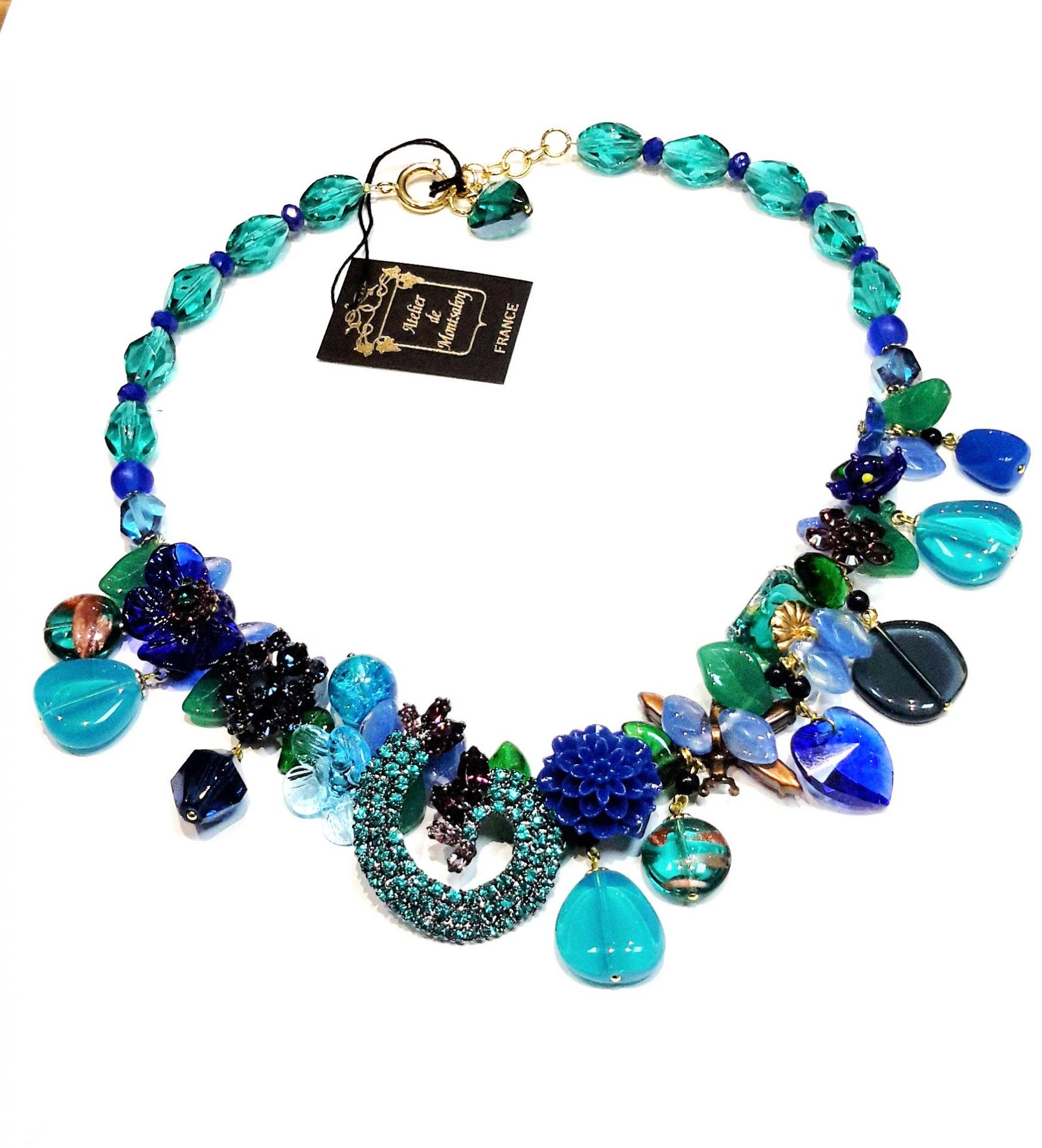 Collier majestic blue n6 245