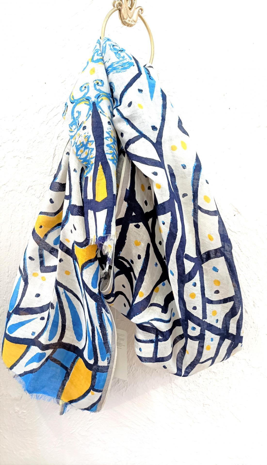 Etole petrusse bleu blanc jaune 2