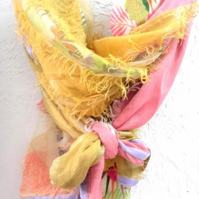 Fou de lou tropic rose jaune