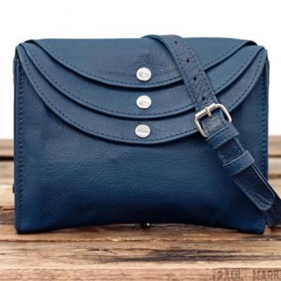 La minaudiere sac bandouliere femme cuir bleu electrique sac a main paul marius 1 copie