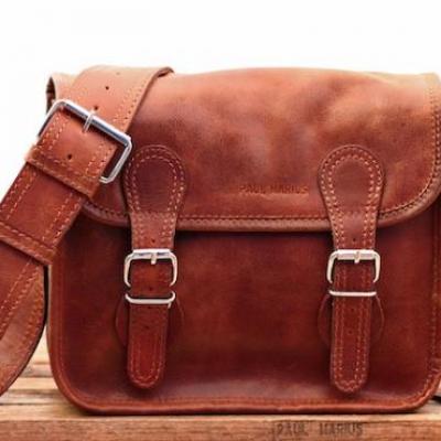 La sacoche s naturel sac bandouliere cuir besace sacoche pochette vintage paul marius 1