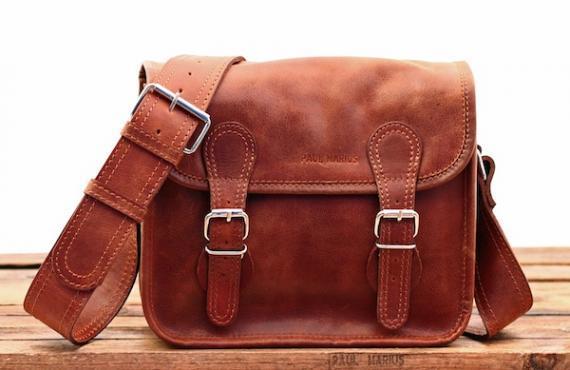 La sacoche s naturel sac bandouliere cuir besace sacoche pochette vintage paul marius 2