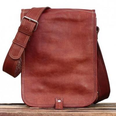 Le messager s naturel sac bandouliere cuir besace sacoche pochette vintage paul marius 1