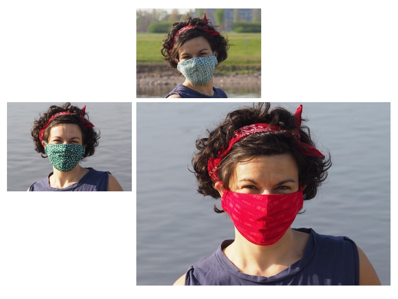 Masques coton chez cornaline