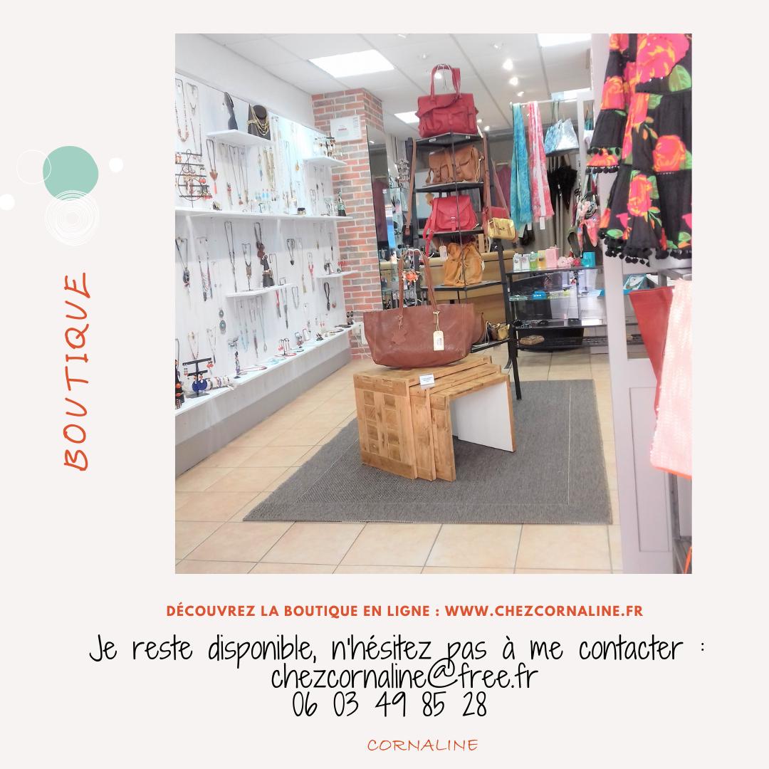 Message boutique cornaline
