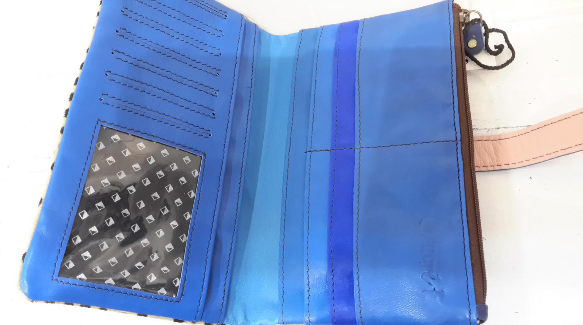 Portefeuille petits poids bleu int